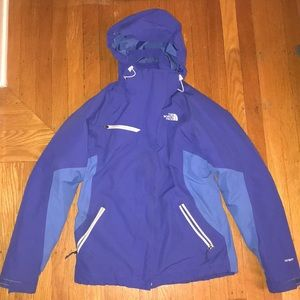 EUC North Face 2-in-1 HyVent jacket Sz S